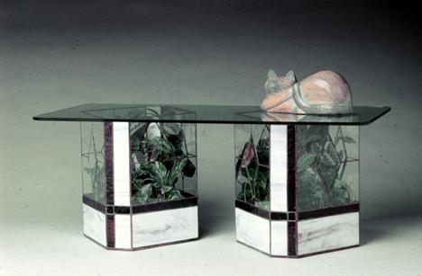 terrarium tables by ron gladkowski. Black Bedroom Furniture Sets. Home Design Ideas